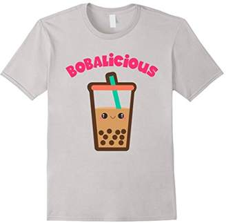 Cute Bobalicious Boba Milk Tea T-Shirt