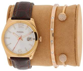 Fossil Boyfriend Rose Gold-Tone Women's Watch, ES3770