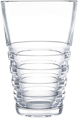 clear Saint Louis Crystal Oxymore Large Vase,