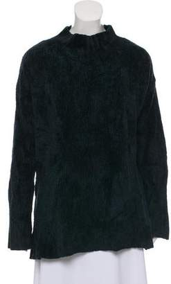 Creatures of Comfort Mock Neck Oversize Sweater