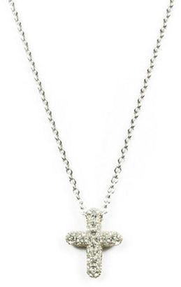 Judith Jack Sterling Silver and Crystal Pendant Necklace $85 thestylecure.com