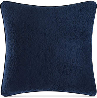 "Tracy Porter Closeout! Velvet Quilted 20"" Square Decorative Pillow Bedding"