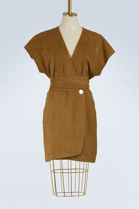 Vanessa Bruno Itcha sheepskin dress