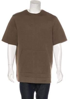 Helmut Lang Oversize Neoprene Sweatshirt