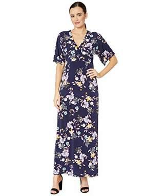Donna Morgan Women's Jersey Maxi Dress