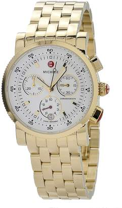 Michele Women's MWW01C000106 Sports Sail Gold Plated Watch