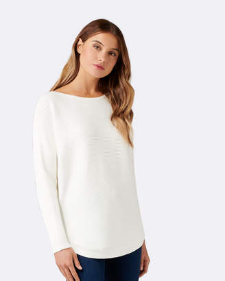 Forever New Nelly Horizontal Batwing Jumper
