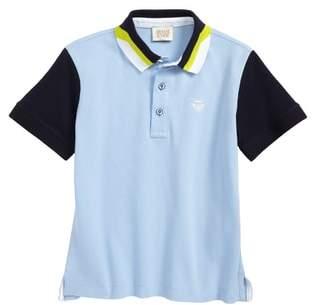 Armani Junior Colorblock Polo