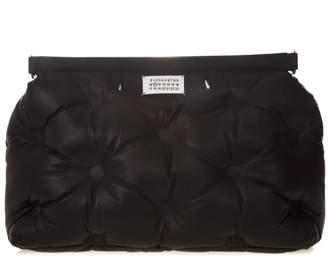 Maison Margiela Large Glam Slam Black Leather Bag