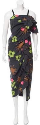 Isa Arfen Sleeveless Printed Dress