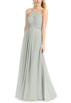 01f73bdb711 UZN Women s Hater Wedding Bridesmaid Dresses A-Line Chiffon Pleated Prom  Party Dress