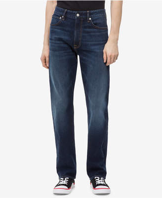 Calvin Klein Jeans Men Relaxed Straight-Fit Jeans