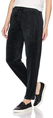 Max Studio Women's Cropped Velour Jogger