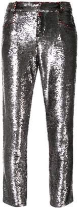 IRO sequinned skinny jeans