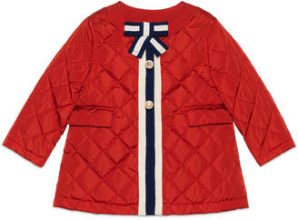 Baby nylon padded coat $595 thestylecure.com