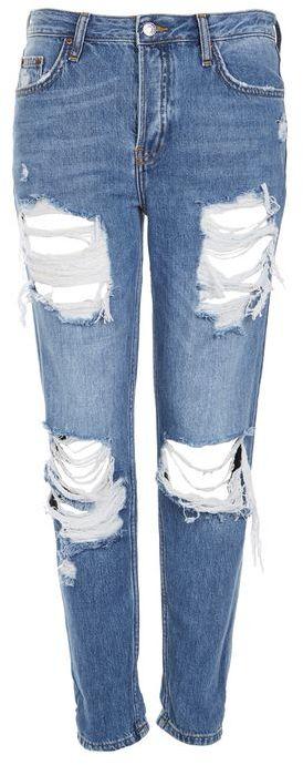TopshopTopshop Moto bum ripped hayden boyfriend jeans