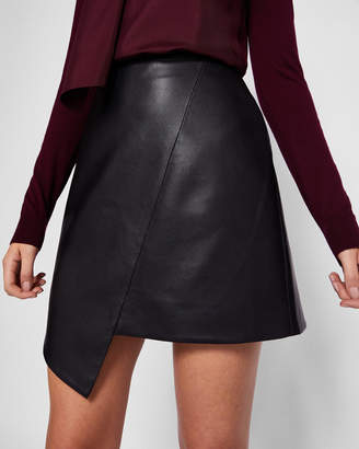Ted Baker OOLIVE Asymmetric exposed zip skirt