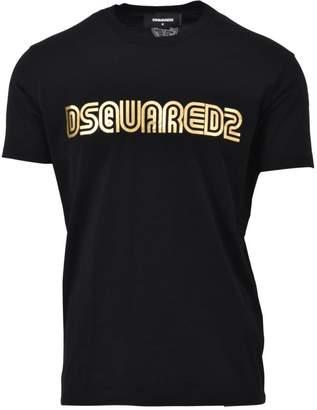 DSQUARED2 Black Crewneck T-shirt
