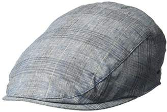 Bailey Of Hollywood Men's Chiron Plaid Ivy Cap