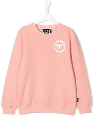 Boy London Kids Eagle print sweatshirt
