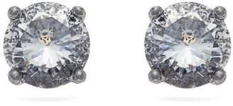 Bottega Veneta Cubic Zirconia Silver Earrings - Womens - Silver