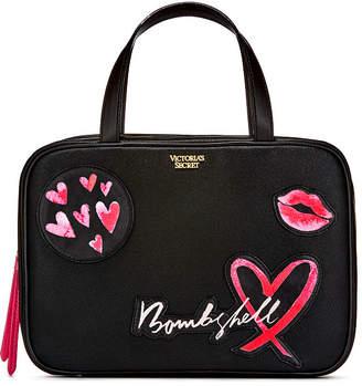 Victoria's Secret Victorias Secret Patch Jetsetter Travel Case