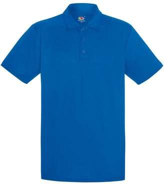 Fruit of the Loom Mens Short Sleeve Moisture Wicking Performance Polo Shirt (S)