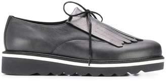Tommy Hilfiger fringed platform shoes