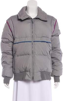 Obermeyer Zip-Up Down Jacket