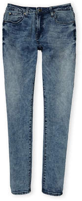 7 For All Mankind Girls 7-16) Paxtyn Skinny Acid Wash Jeans