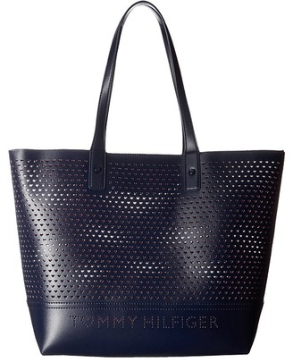 Tommy Hilfiger Laura Tote $128 thestylecure.com