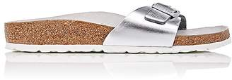 Birkenstock Women's Madrid Leather Buckle-Strap Sandals $190 thestylecure.com