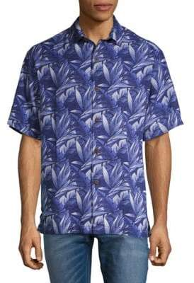 Tommy Bahama Jema Printed Silk Button-Down Shirt