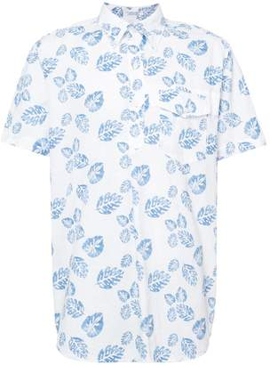Engineered Garments leaf print shirt