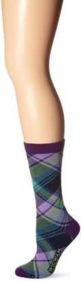 Wigwam Women's Uptown Wool-Free Lightweight Pattern Casual Sock