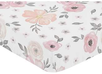 JoJo Designs Sweet Floral Fitted Crib Sheet