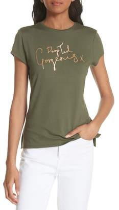 Ted Baker Drop Ted Gorgeous Fitted Tee