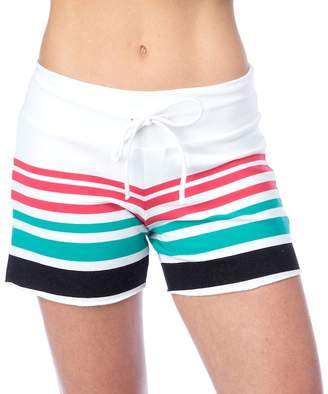 Pink Lotus Pl Movement By Women's PL Movement by Onshore Waves Yoga Shorts