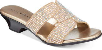 Karen Scott Esmayy Slide-On Sandals, Created for Macy's Women's Shoes