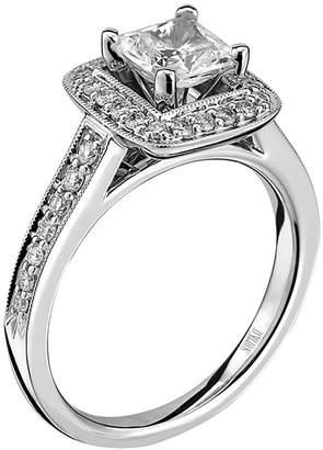Scott Kay Luminaire Semi Mount Diamond Engagement Ring in Palladium (1/3 cttw)