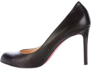 Christian Louboutin  Christian Louboutin Simple 85 Leather Pumps