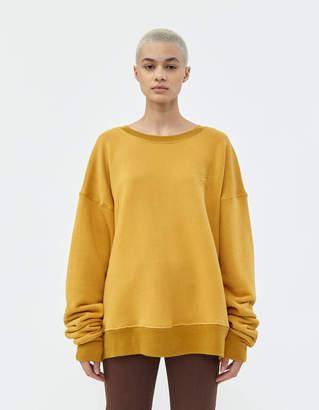 Simon Miller Rista Sweatshirt in Sun Yellow