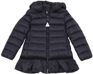 Moncler New Nadra Nylon Down Coat