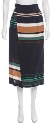 Apiece Apart Printed Midi Skirt