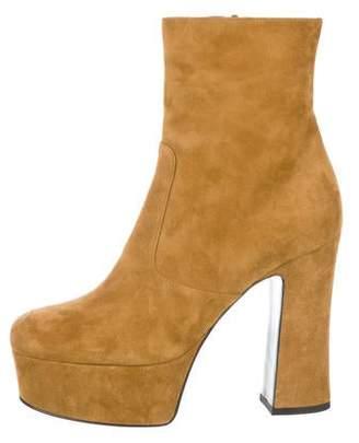 c3cf378ce64 Saint Laurent Green Women's Boots - ShopStyle