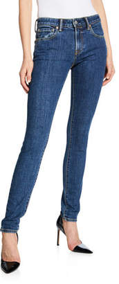 Burberry Scotton Mid-Rise Skinny-Fit Jeans