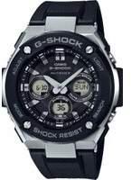 Mens G-Steel Midsize Alarm Chronograph Radio Controlled Watch GST-W300-1AER
