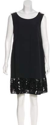 See by Chloe Sequined Silk Dress