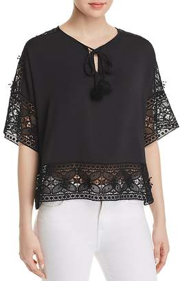 Le Gali Katherine Lace-Trimmed Blouse - 100% Exclusive