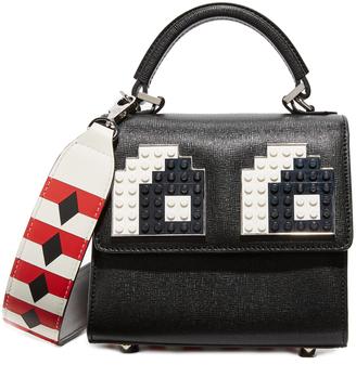 les petits joueurs Alex Eyes Micro Cross Body Bag $860 thestylecure.com
